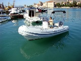 Spead boat for rent in Trogir